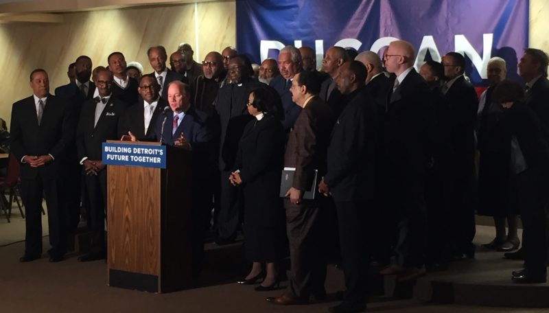 Faith Leaders Endorse Mayor Duggan